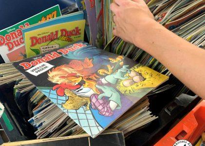 Verzameling Donald Ducks geshopt bij de kringloop