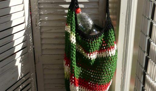 aan de haak blog 2 met een gehaakte tas omslagfoto