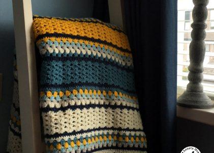 Een gehaakte brocante deken (haakblog 20)