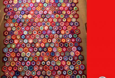 Een gehaakte hexagondeken (haakblog 29)