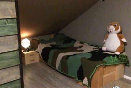 Een gehaakte corner to corner camouflagedeken (haakblog 40)