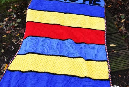 Een gehaakte zeven dwergen deken (haakblog 73)