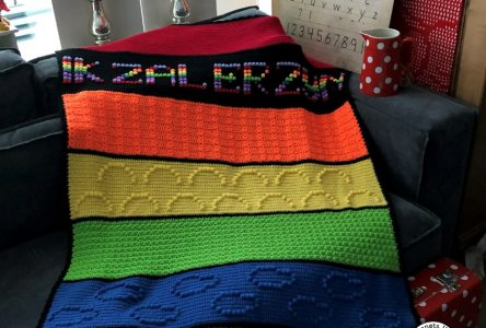 De gehaakte Ik zal er zijn deken (haakblog 74)