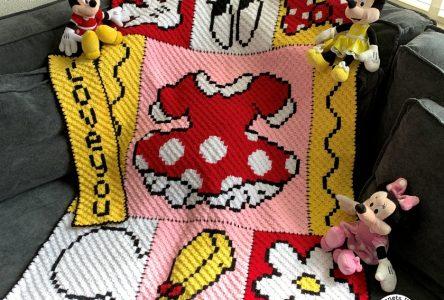 Een gehaakte polkadot jurk deken (haakblog 93)
