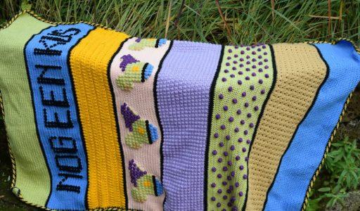 aan de haak blog 97 een gehaakte Dopey-deken