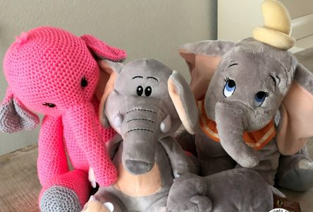 Een gehaakte amigurumi olifant (haakblog 85)