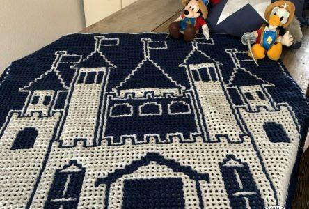 Een gehaakte deken met interlocking haken (haakblog 81)