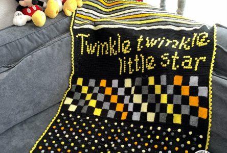 Een gehaakte Twinkle Twinkle kinderdeken (haakblog 58)