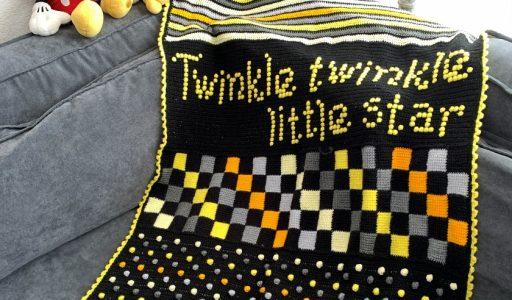 kinderdeken twinkle twinkle 1
